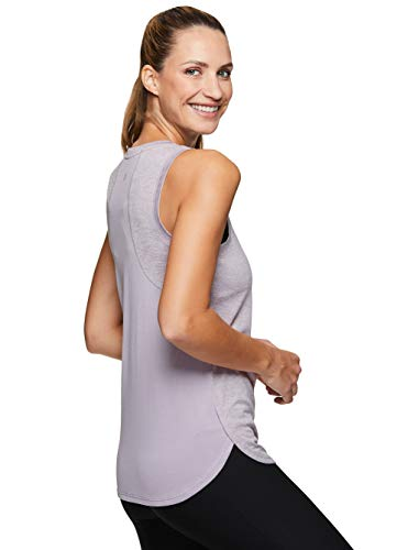 RBX Active Women's Sleeveless Athletic Performance Running Workout Yoga Tank Top with Mesh Ventilation