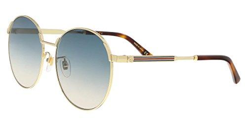 Sunglasses Gucci GG 0206 SK- 005 GOLD / - Round Gucci Sunglasses