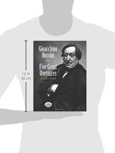 Six Great Overtures in Full Score Dover Music Scores