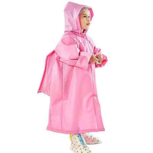Transparent À Long ChapeaucouleurBleuTaille RaincoatSac Chenyang86 Plein Grand Étudiant Air MPink Poncho Imperméable En 5LRqj4A3