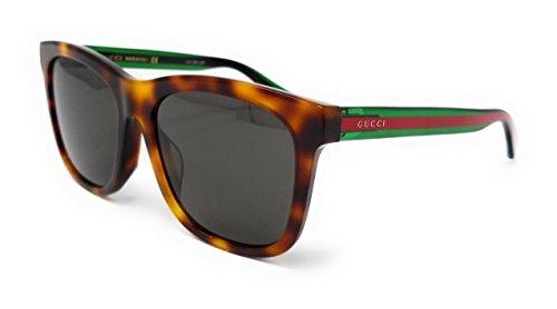 Gucci Grey Leses Square Sunglasses