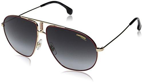 Carrera Bound Aviator Sunglasses, RED Gold, 60 mm