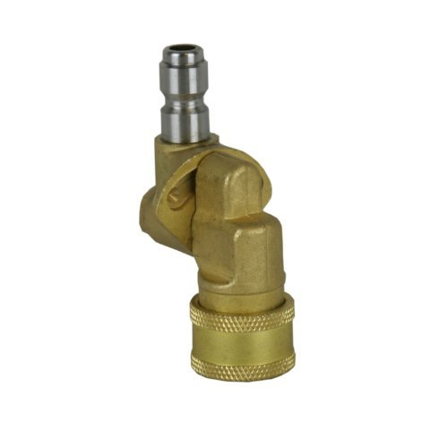 BE Pressure Washer 85.300.172 1/4'' Quick Connect Pivot Coupler by BE PRESSURE