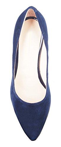 NIUERTE NIUERTEWife - Zapatilla Alta Mujer, Color Azul, Talla 43