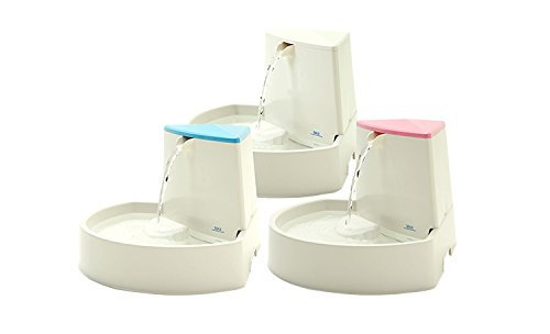 Little Bear Star 2.5L Automatic Electric Pet Water Fountain Dog Cat Drinking Bowl with Corner Fit Feature