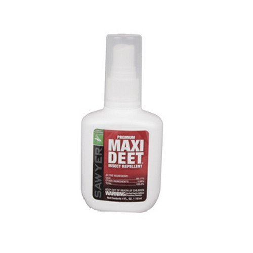 Sawyer Maxi-Deet Premium Insect Repellent Spray 4oz - 100 Deet Insect Repellent