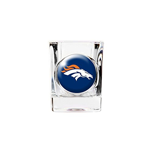 - Roy Rose Gifts NFL Denver Broncos 2oz Square Shot Glass