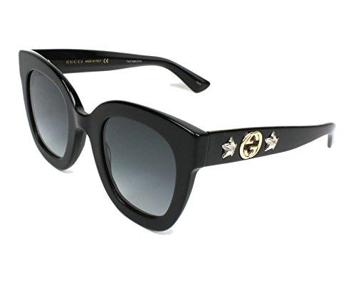 Gucci GG0208S Black/Grey One ()