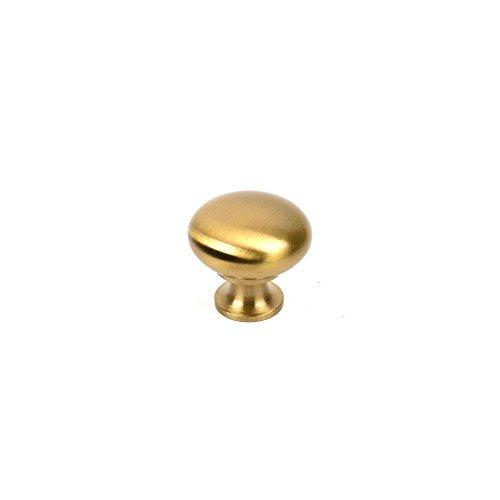 - Century Hardware 12016-4 Saturn Hollow Brass Mushroom Knob, Brass/Antique Brass