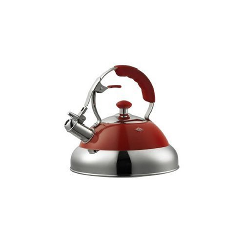 Whistling Kettle by Wesco Red by Wesco