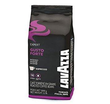 Lavazza Gusto Forte Espresso Beans 2.2 (Lavazza Dark Roast Coffee)
