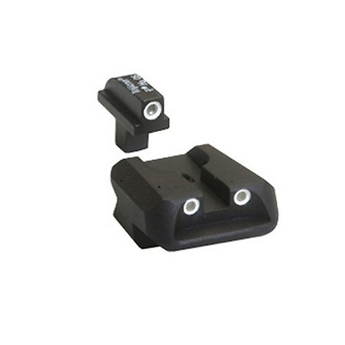 Trijicon 3 Dot Front And Novak Rear Night Sight Set for Colt Government/Combat Commander