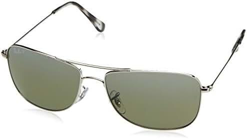 Ray-Ban Unisex RB3543 Chromance Polarized Aviator Sunglasses