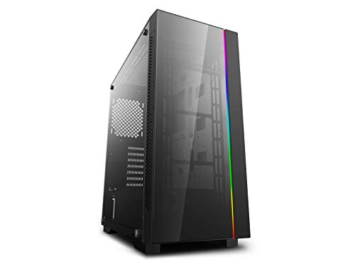 DEEPCOOL MATREXX 55 V3 ADD-RGB Case, E-ATX Supported, Motherboard or Button Control of SYNC of Addressable RGB Devices of Any Brands, 4mm Full Sized Tempered Glass