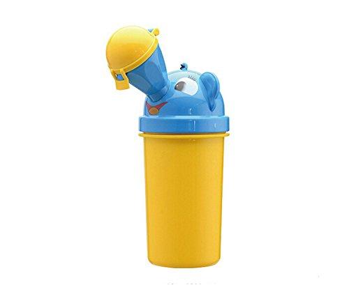 GUANGRUIDA Baby Girl's Boys Child Potty Urinal Toddler Potty Camping Training Car Travel Toilet (boys yellow)