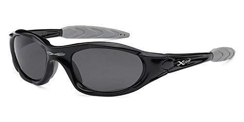 X-loop Polarized Mens Action Sports Fishing Sunglasses - Several Colors (Black)