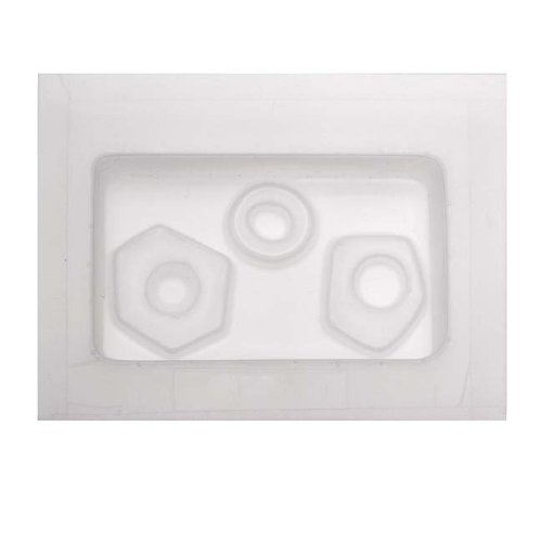 (Yaley Resin Epoxy Mold for Jewelry Casting - Abstract Donuts)
