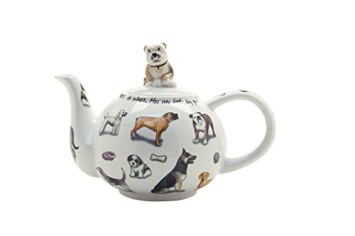 Cardew Design Man's Best Friend 2-Cup Teapot, Dog, 18-Ounce