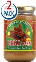 YS Eco Bee Farms Raw Cinna Honey -- 13 oz Each / Pack of 2 (Cinnamon Honey)