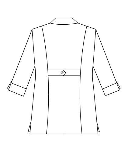 Panda Uniform Custom Colored Lab Coat for Women 30 Inch length-Grey-M by Panda Uniform (Image #6)