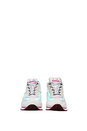 Sneakers Equipe Bianco Diadora W Grigio HH Heritage Suede Sw Donna Canvas 8qaAwf