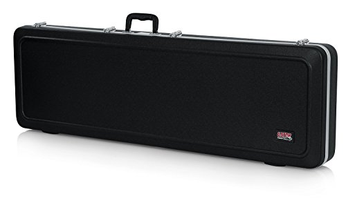 (Gator Cases Deluxe ABS Molded Case for Bass Guitars; Fits Precision and Jazz Style Bass Guitars (GC-BASS))