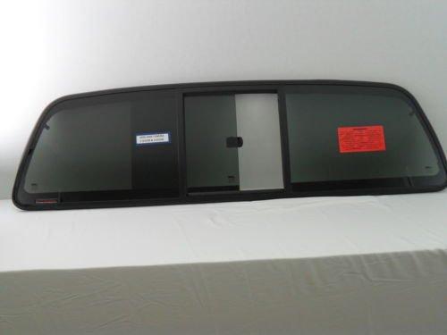 CRL Fits 2000-2006 Toyota Tundra 2 Door Extended/Standard Pickup Sliding Back Window Back Glass Rear Slider FY95044PK4