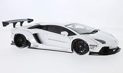 Amazon Com Lamborghini Aventador Liberty Walk Lb Works White 2015