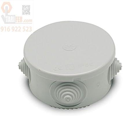 Famatel 3001 - Caja derivación estanca diámetro 70 pg.16 presión: Amazon.es: Bricolaje y herramientas