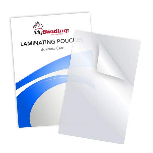5mil Matte Clear Business Card Laminating Pouches - ()