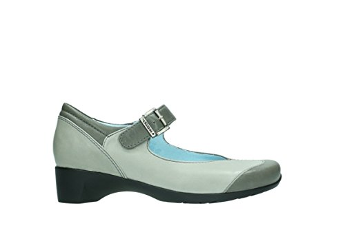 jane Grigia Opale Signore Mary Shoe Wolky 90200 Pelle Rx7FnF