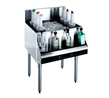 Underbar Cocktail Unit (Krowne Metal KR21-36 Royal 2100 Series Underbar Ice Bin/Cocktail Unit 36