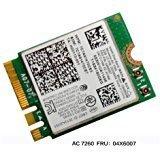 Intel Dual Band Wireless-AC 7260 7260 WiFi + Bluetooth 4.0 Combo card For Lenovo N20 Chr omebook, FRU 04X6007 20200552 T440 T440S T440P X230S X240 X240S L440 W540 - Intel Wireless