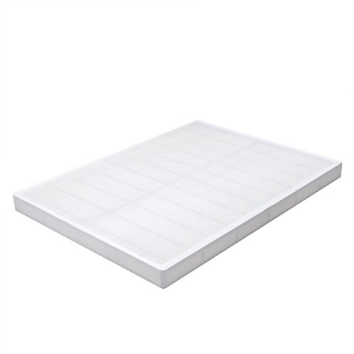Swascana 5'' Heavy Duty Quick Assembly Steel Mattress Foundation/Base/Box Spring Replacement (Queen) by Swascana