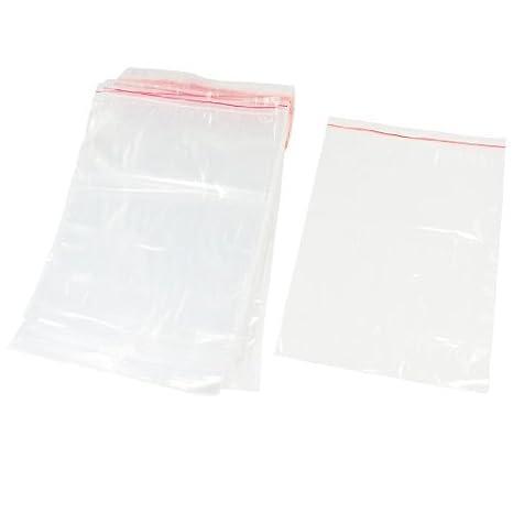 DealMux de plástico con autocierre Bolsas sellables 26 x 18 ...