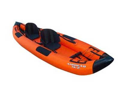 Airhead Travel Kayak Deluxe 12' 2 Person Inflatable Kayak