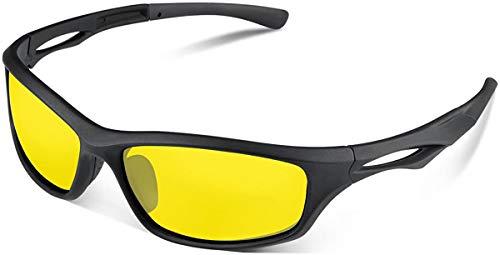 Skevic Gepolariseerde Sport Zonnebril len voor Mannen Vrouwen – Fietsbril TR90 Frame voor het Rijden MTB Vissersbril…