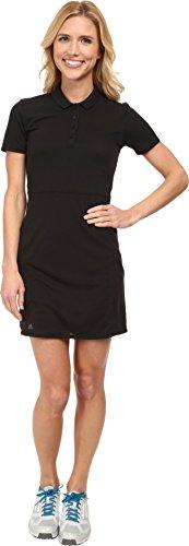 adidas Golf Women's Advance Pique Dress, Black, 2