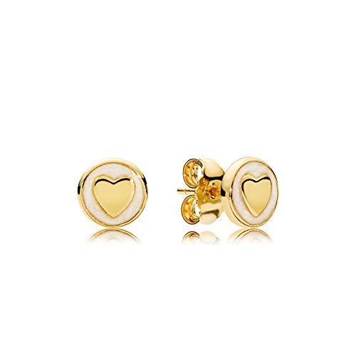 (PANDORA Shine Sweet Statements Stud Earrings - 267275EN23)