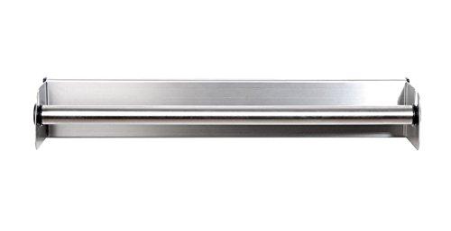 axial - Soporte para rollos de cocina de acero inoxidable - Para Pegar o taladrar: Amazon.es: Hogar