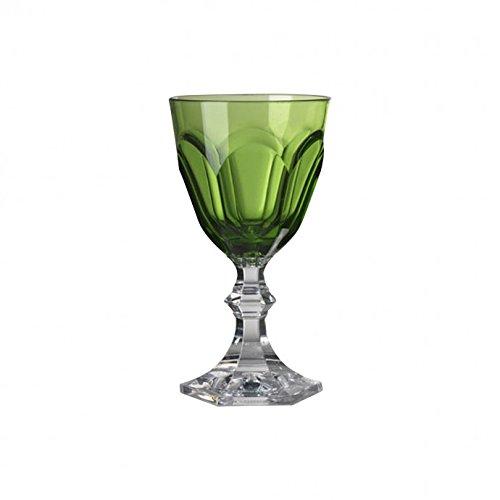 Mario Luca Giusti Dolce Vita Green Water Goblet