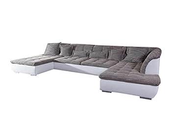 Kawola Ecksofa Florenz Big Sofa Lederimitat Und Stoff In