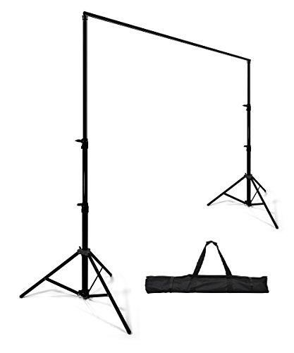 StudioFX Background Stand Backdrop Support System Kit 8ft by 10ft wide By Kaezi H804S -