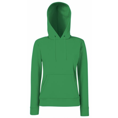 of Loom Green Shirt Capuche Sweat Kelly Femme Fruit the waqdEaS