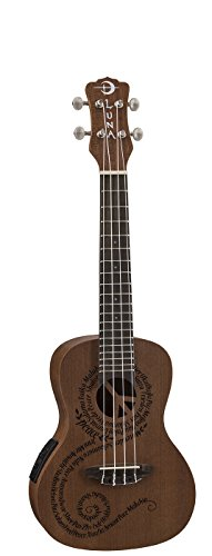 Luna Mahogany Maluhia Acoustic Electric Concert product image