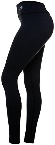 38ba1f140b Women's Compression Pants (Black – S) Best Full Leggings Tights for Running,  Yoga