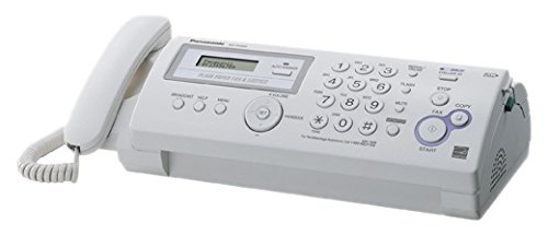 Panasonic Plain Paper Fax/copier- Ultra-compact Design. (Best Compact Fax Machine)