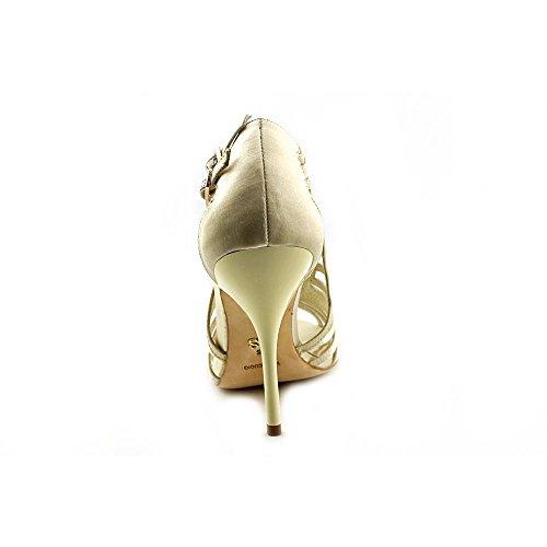 A.B.S. by Allen Schwartz Womens Constance Open Toe Ankle Strap Classic Pumps Ivory eUBlm5VZ