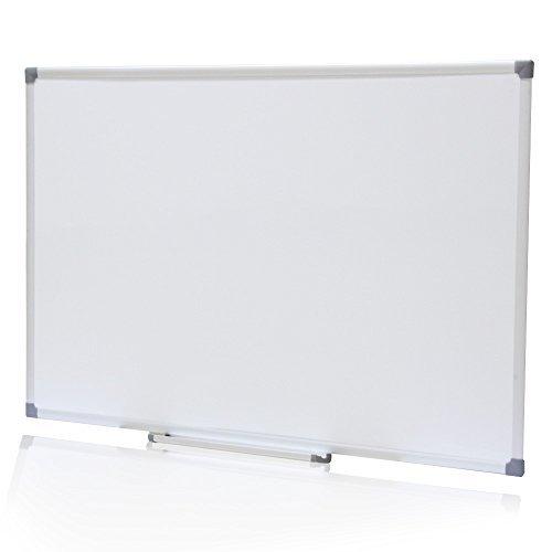 VIZ-PRO Cat-eye Magnetic Whiteboard / Dry Erase Board, 48 X 36 Inches, Silver Aluminium Frame