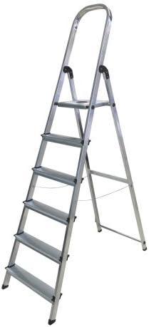 Escalera de aluminio doméstica Norma Mix Rolser 5 Peldaños: Amazon.es: Bricolaje y herramientas